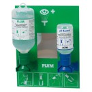 Augen-Notfallstation 2x Augenspülflaschen 200 ml und 500 ml