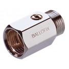 Mini-Kugelhahn Ballofix Innen-/Außengewinde - Chrom - DN 25 - RG 1''