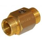 Mini-Kugelhahn Ballofix Außen-/Außengewinde - Messing - DN 20 - RG 3/4''