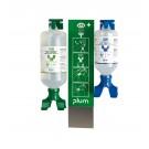 Augen-Notfallstation DUO 2x Augenspülflaschen 200 ml und 500 ml